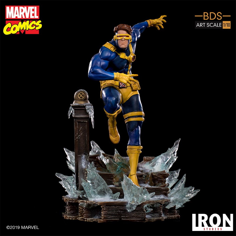 IRON STUDIOS : X-Men Battle Diorama Series Cyclops Statue  Iron-258