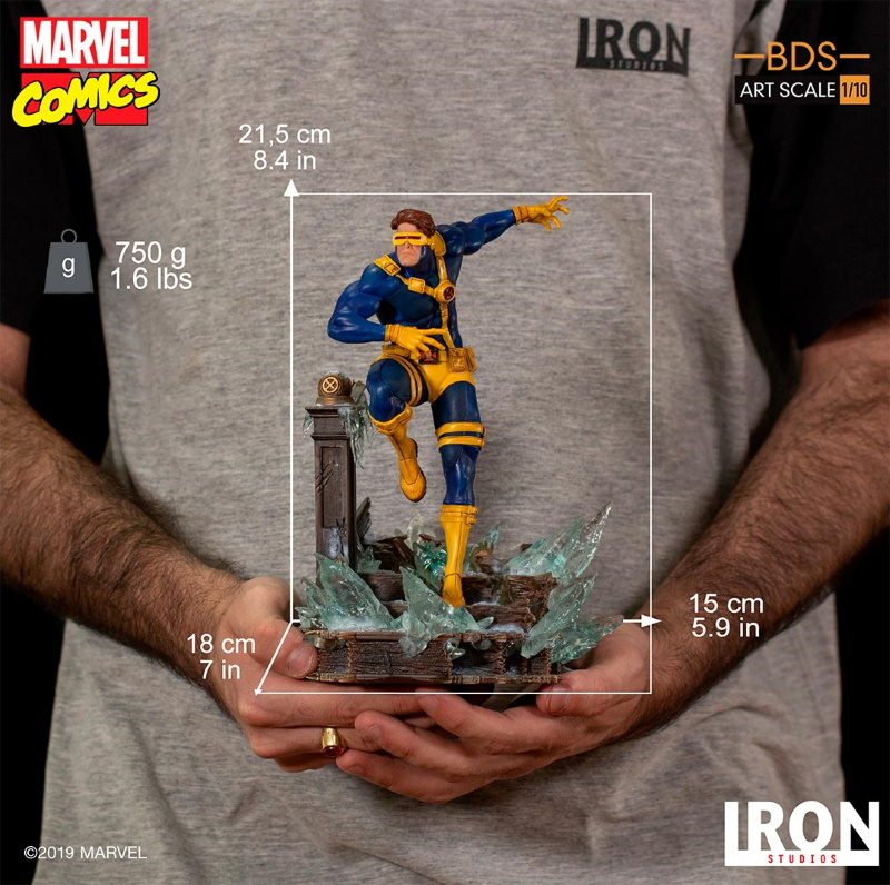 IRON STUDIOS : X-Men Battle Diorama Series Cyclops Statue  Iron-259