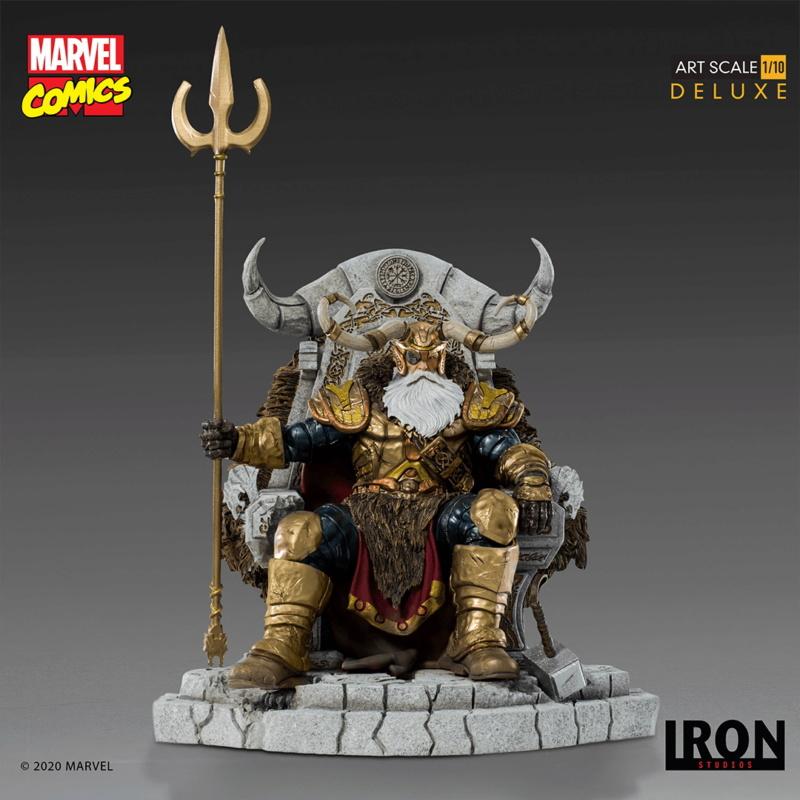 IRON STUDIOS : ODIN Deluxe 1/10 Art Scale Statue Iron-329