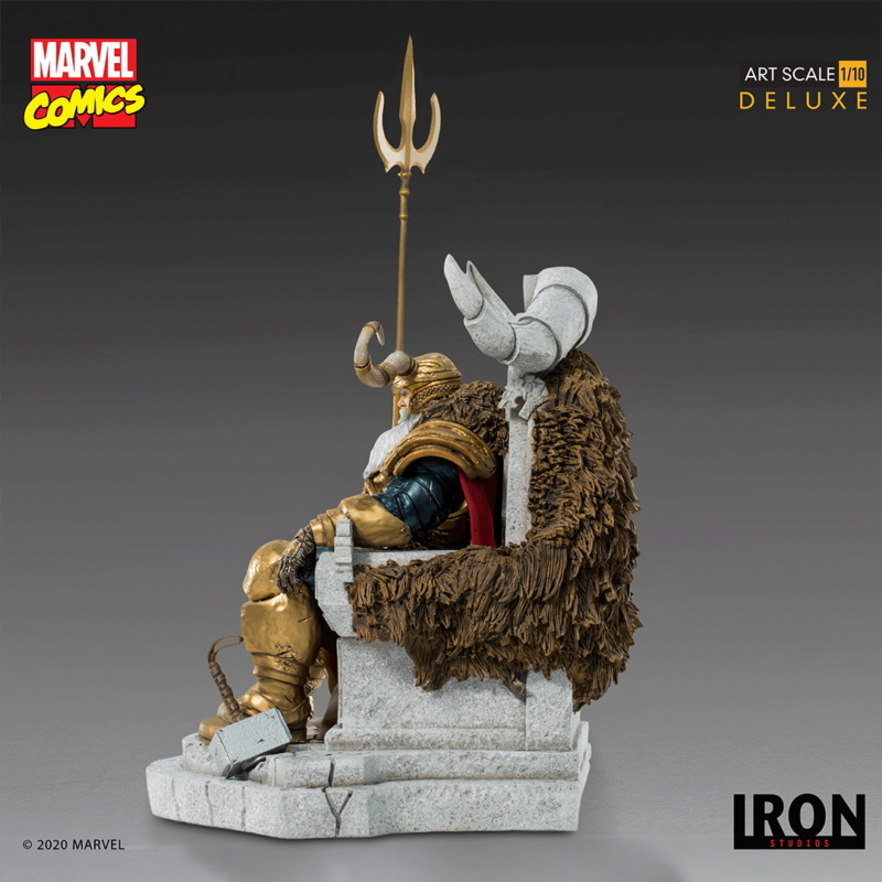 IRON STUDIOS : ODIN Deluxe 1/10 Art Scale Statue Iron-330
