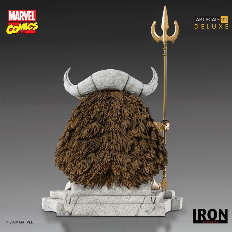 IRON STUDIOS : ODIN Deluxe 1/10 Art Scale Statue Iron-331