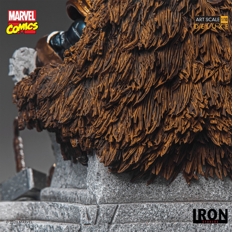 IRON STUDIOS : ODIN Deluxe 1/10 Art Scale Statue Iron-333
