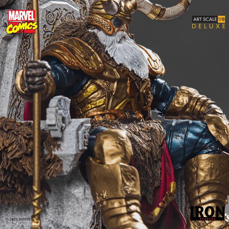 IRON STUDIOS : ODIN Deluxe 1/10 Art Scale Statue Iron-334