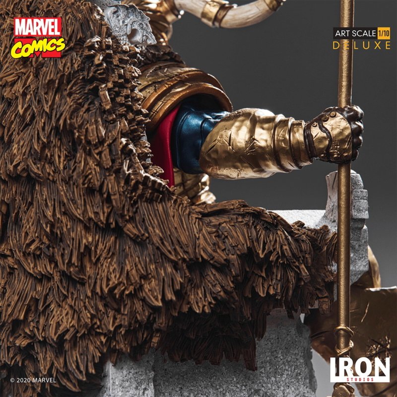 IRON STUDIOS : ODIN Deluxe 1/10 Art Scale Statue Iron-335