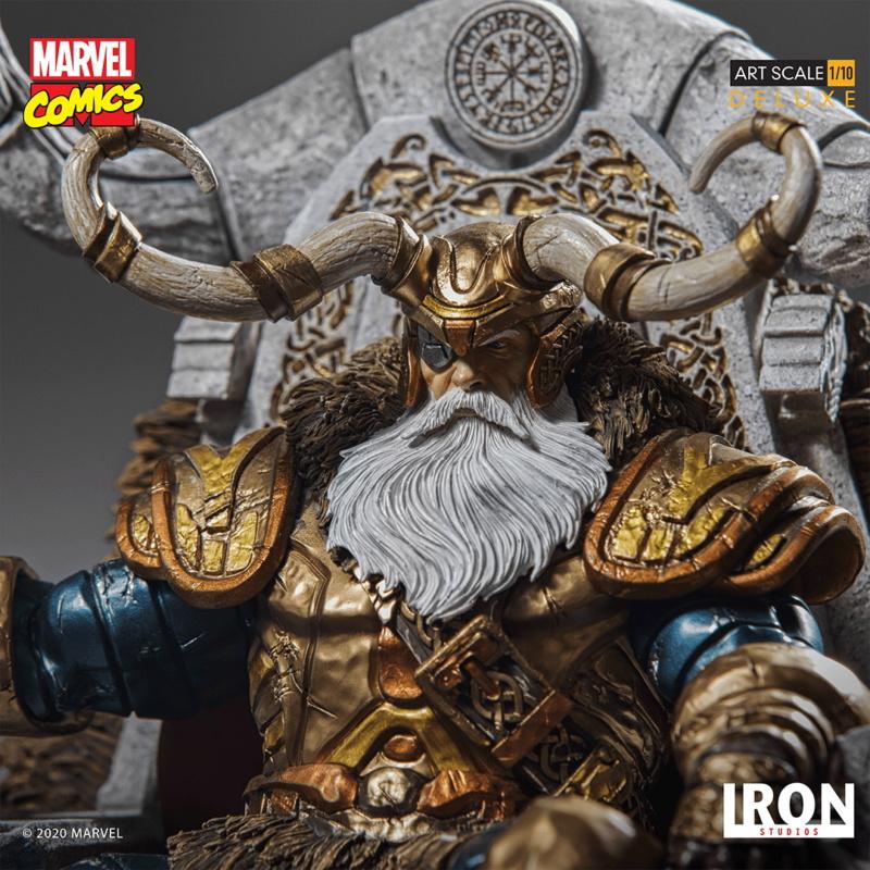 IRON STUDIOS : ODIN Deluxe 1/10 Art Scale Statue Iron-336