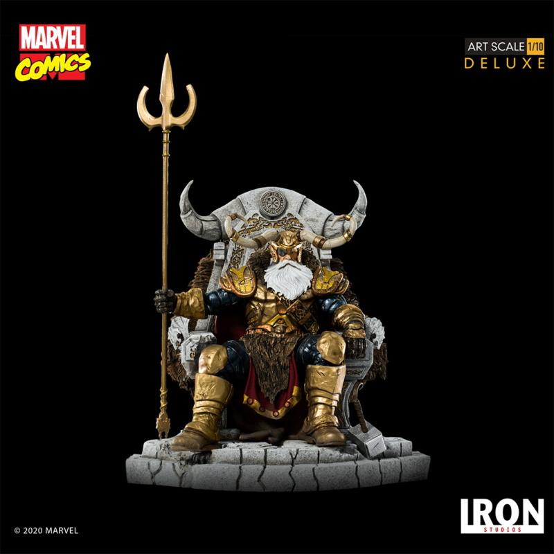 IRON STUDIOS : ODIN Deluxe 1/10 Art Scale Statue Iron-339