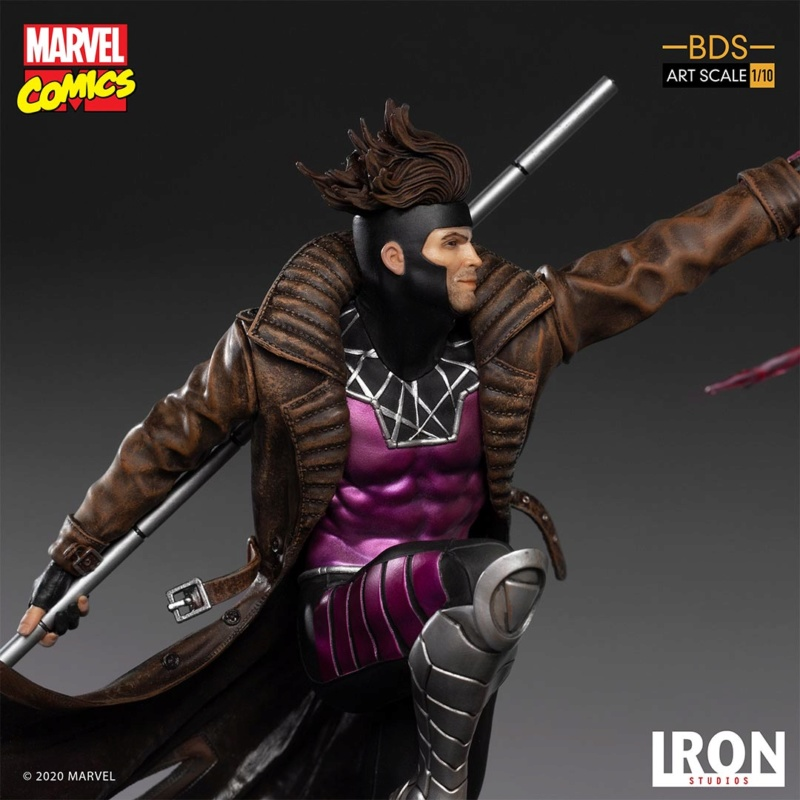 IRON STUDIOS : Gambit BDS Art Scale 1/10  Iron-345
