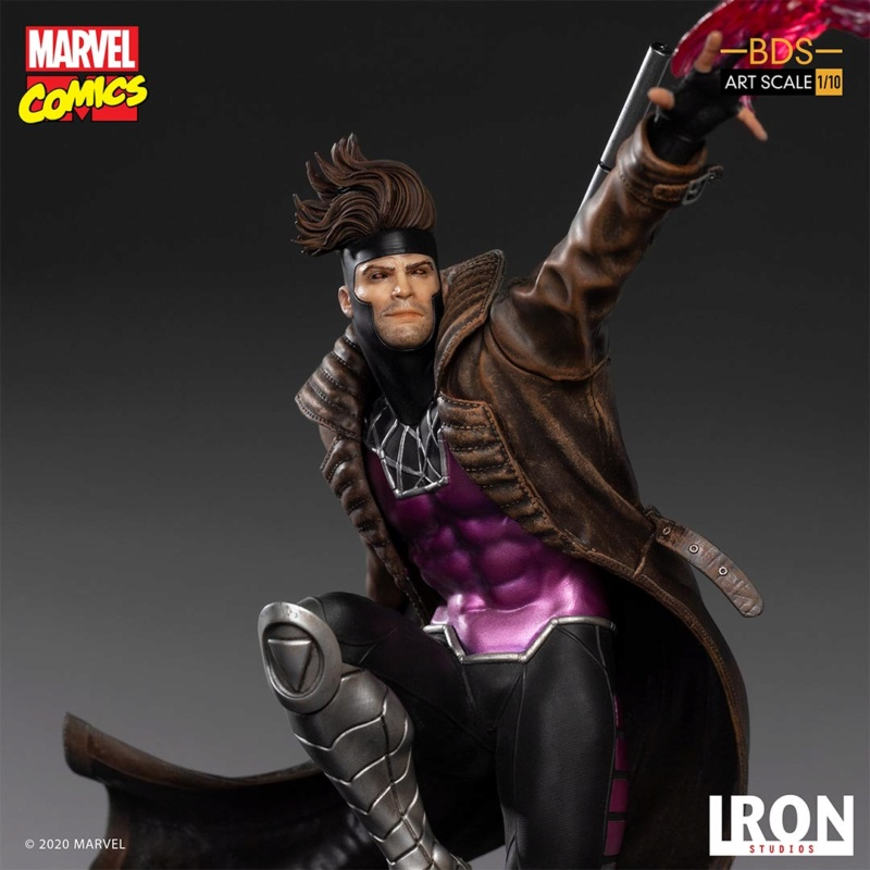 IRON STUDIOS : Gambit BDS Art Scale 1/10  Iron-346