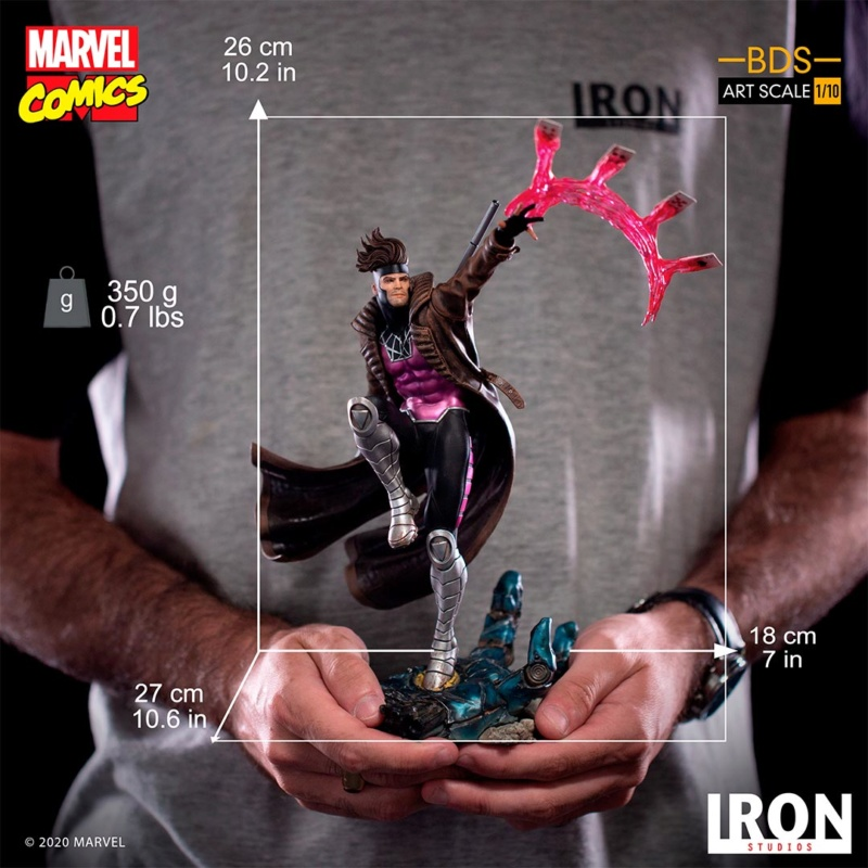 IRON STUDIOS : Gambit BDS Art Scale 1/10  Iron-351