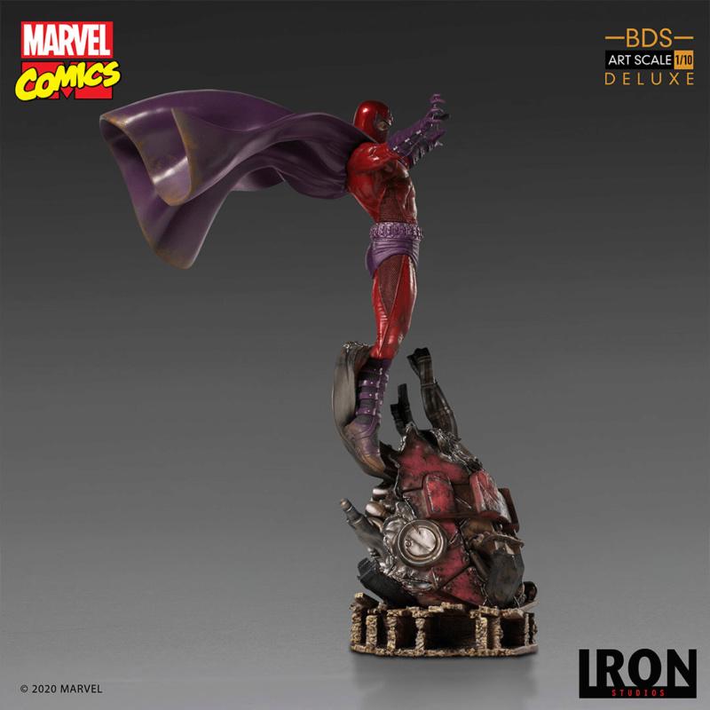 IRON STUDIOS : MAGNETO deluxe BDS Art Scale 1/10 Iron-353