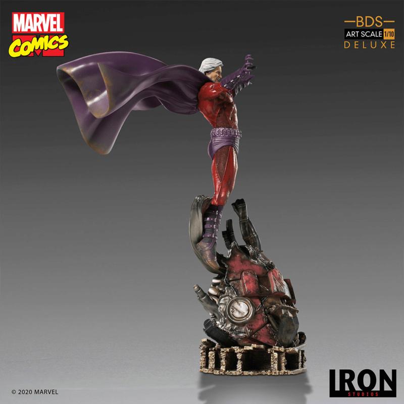 IRON STUDIOS : MAGNETO deluxe BDS Art Scale 1/10 Iron-357