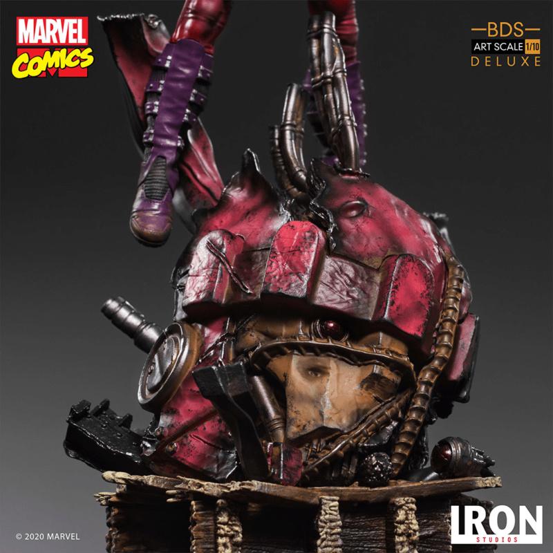 IRON STUDIOS : MAGNETO deluxe BDS Art Scale 1/10 Iron-361