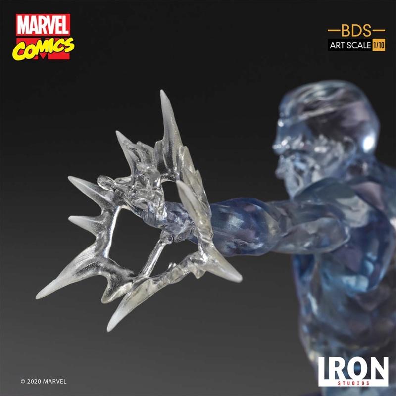 IRON STUDIOS : X-Men Battle Diorama Series Iceman Statue Iron-423