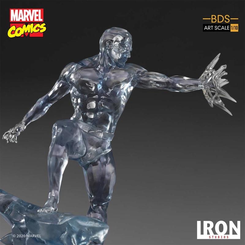 IRON STUDIOS : X-Men Battle Diorama Series Iceman Statue Iron-426