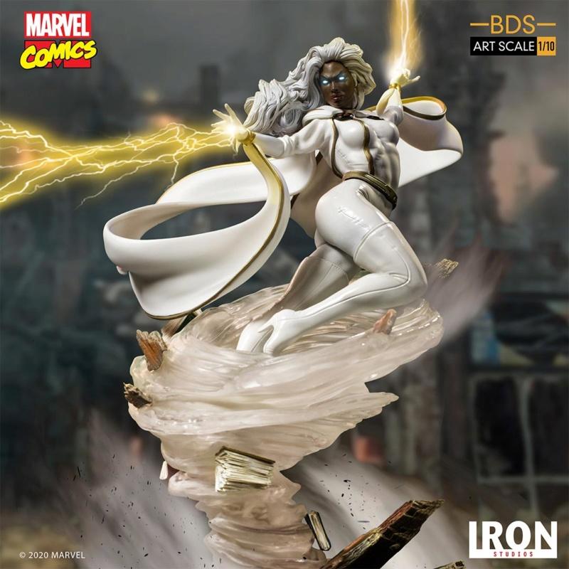 IRON STUDIOS : X-Men Battle Diorama Series Storm 1/10 Scale Statue Iron-429