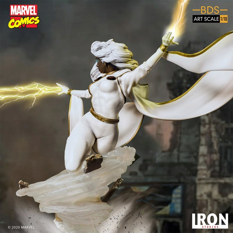 IRON STUDIOS : X-Men Battle Diorama Series Storm 1/10 Scale Statue Iron-430