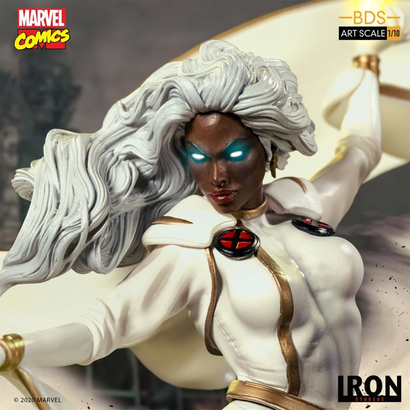 IRON STUDIOS : X-Men Battle Diorama Series Storm 1/10 Scale Statue Iron-431