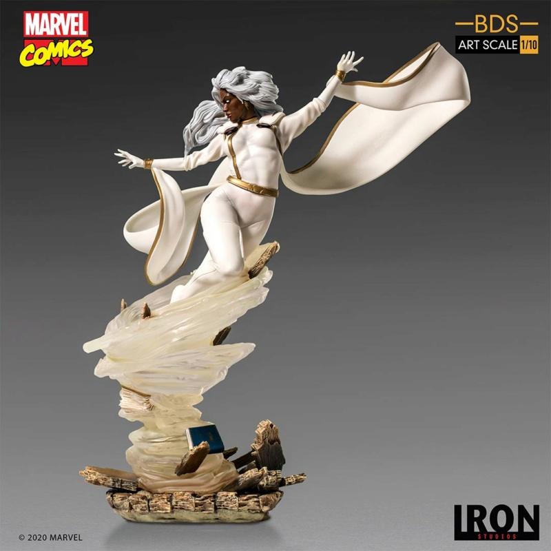 IRON STUDIOS : X-Men Battle Diorama Series Storm 1/10 Scale Statue Iron-433