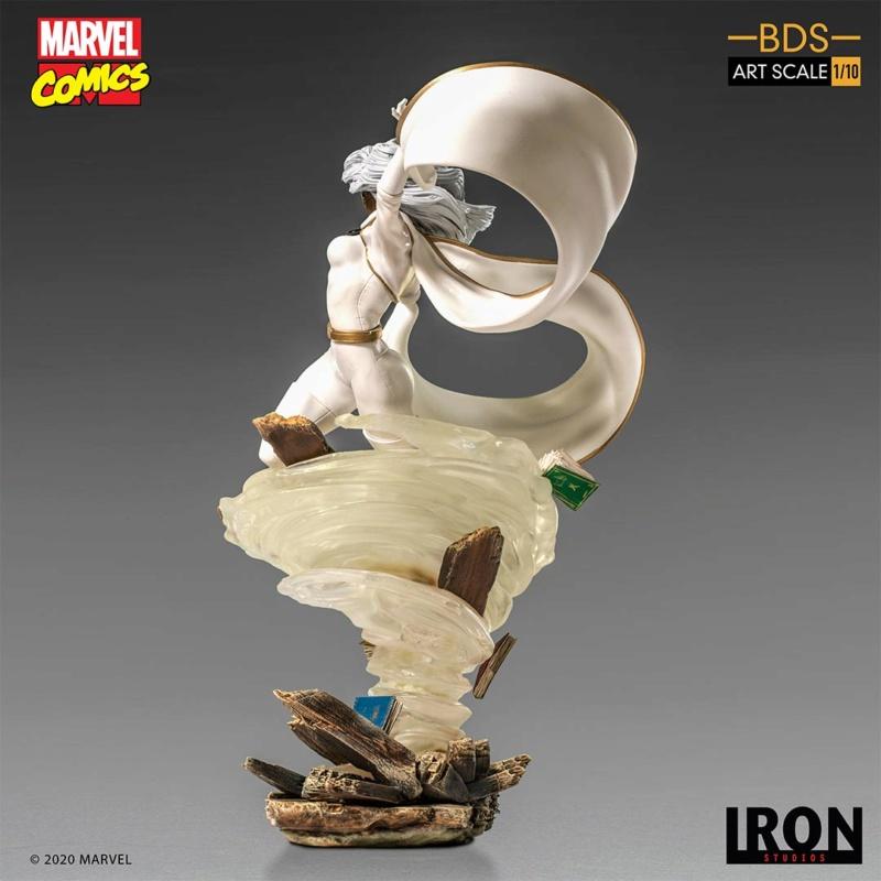 IRON STUDIOS : X-Men Battle Diorama Series Storm 1/10 Scale Statue Iron-434