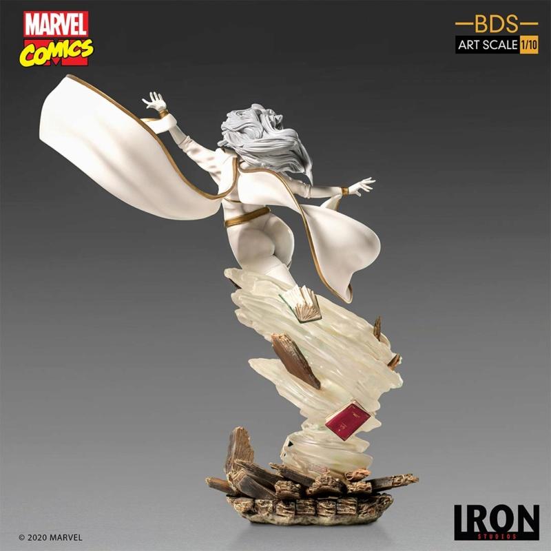 IRON STUDIOS : X-Men Battle Diorama Series Storm 1/10 Scale Statue Iron-435