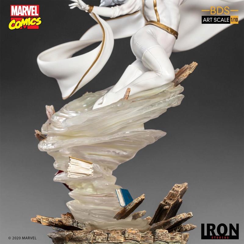 IRON STUDIOS : X-Men Battle Diorama Series Storm 1/10 Scale Statue Iron-436