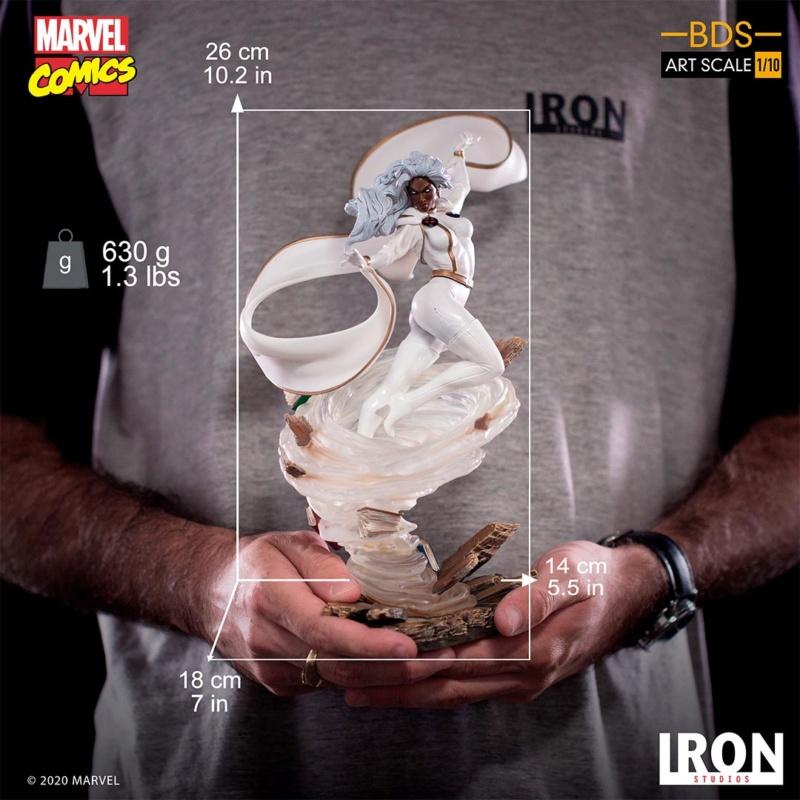 IRON STUDIOS : X-Men Battle Diorama Series Storm 1/10 Scale Statue Iron-441
