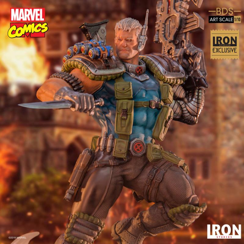 IRON STUDIOS : CABLE 1/10 Scale Statue Iron-572