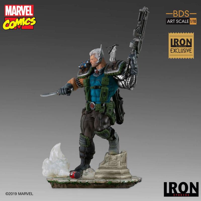 IRON STUDIOS : CABLE 1/10 Scale Statue Iron-574