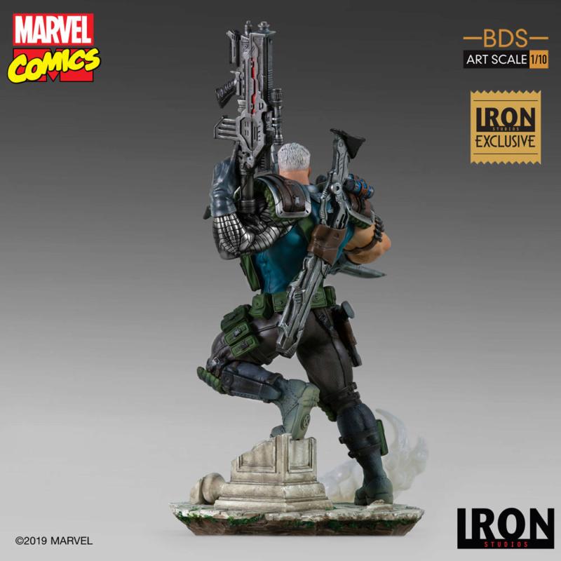 IRON STUDIOS : CABLE 1/10 Scale Statue Iron-575