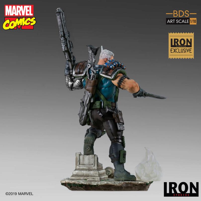IRON STUDIOS : CABLE 1/10 Scale Statue Iron-576