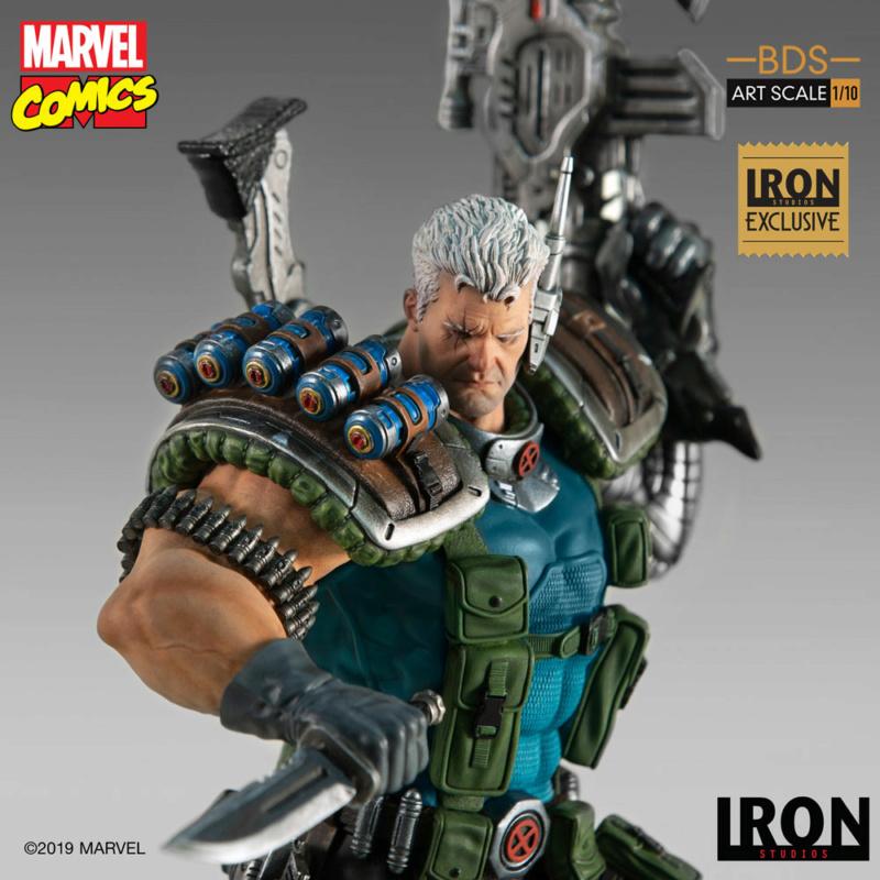 IRON STUDIOS : CABLE 1/10 Scale Statue Iron-577
