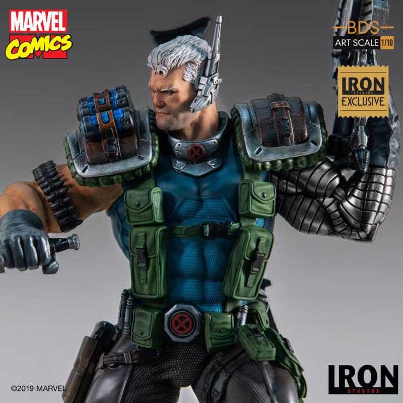 IRON STUDIOS : CABLE 1/10 Scale Statue Iron-578