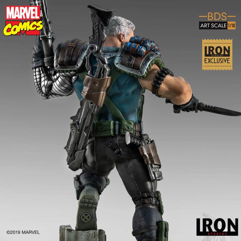 IRON STUDIOS : CABLE 1/10 Scale Statue Iron-579