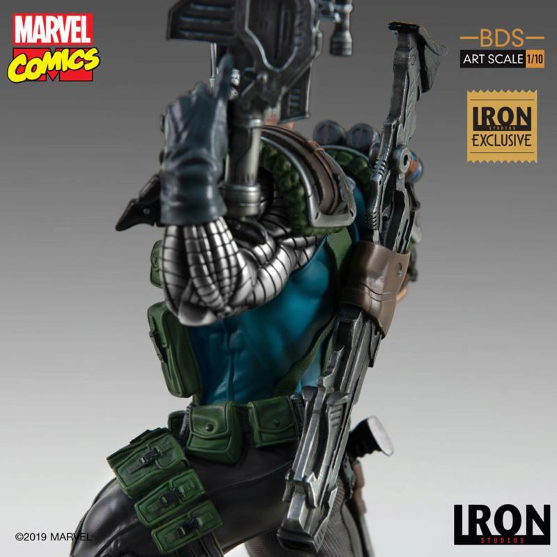 IRON STUDIOS : CABLE 1/10 Scale Statue Iron-580