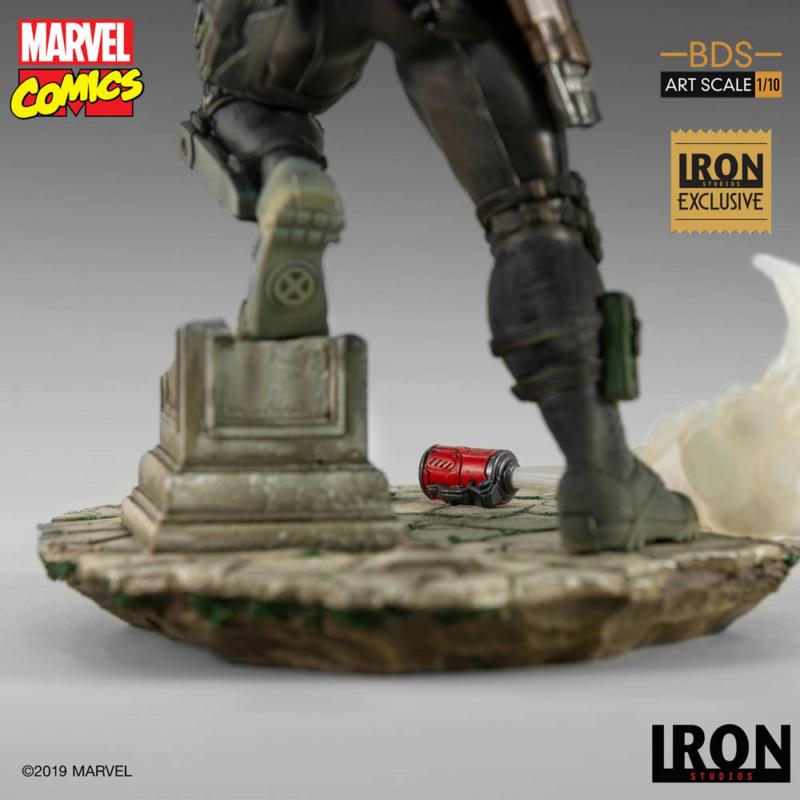 IRON STUDIOS : CABLE 1/10 Scale Statue Iron-581