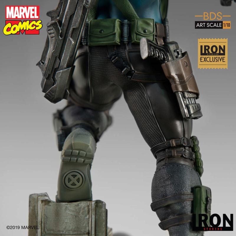 IRON STUDIOS : CABLE 1/10 Scale Statue Iron-582