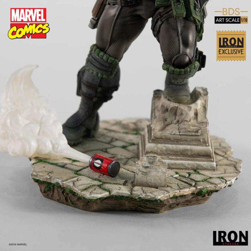 IRON STUDIOS : CABLE 1/10 Scale Statue Iron-583