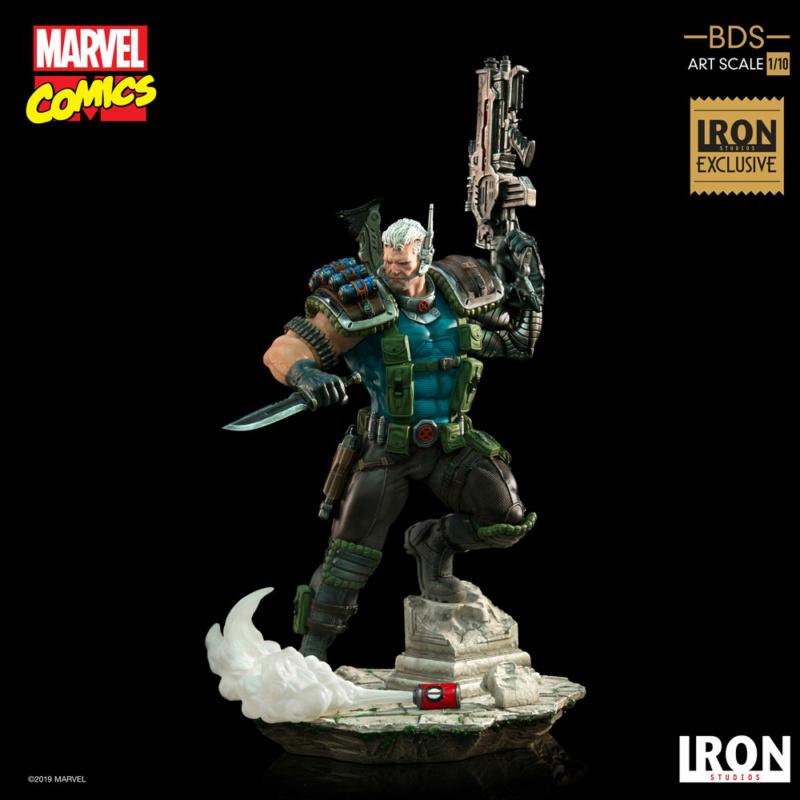 IRON STUDIOS : CABLE 1/10 Scale Statue Iron-584