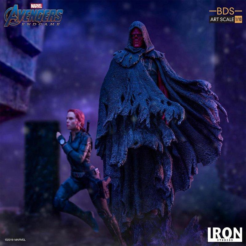 IRON STUDIOS : Avengers: Endgame – Black Widow Battle Diorama Statue Iron-s10