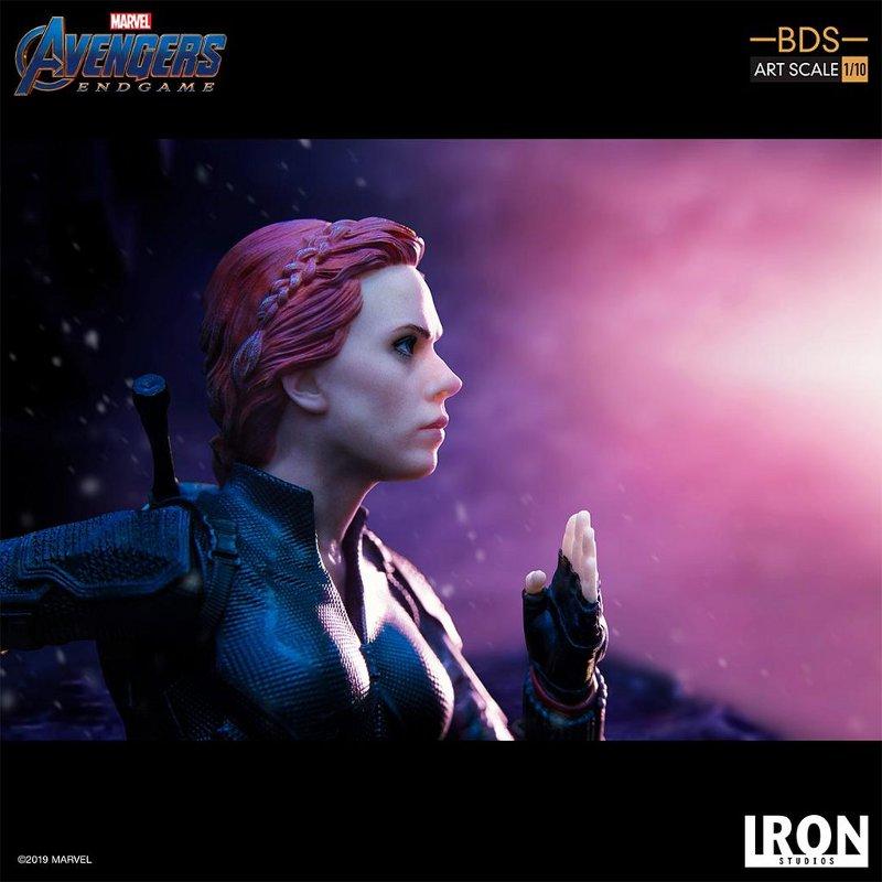 IRON STUDIOS : Avengers: Endgame – Black Widow Battle Diorama Statue Iron-s15