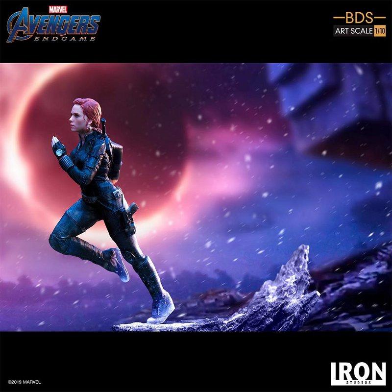 IRON STUDIOS : Avengers: Endgame – Black Widow Battle Diorama Statue Iron-s16