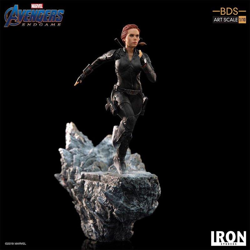 IRON STUDIOS : Avengers: Endgame – Black Widow Battle Diorama Statue Iron-s17
