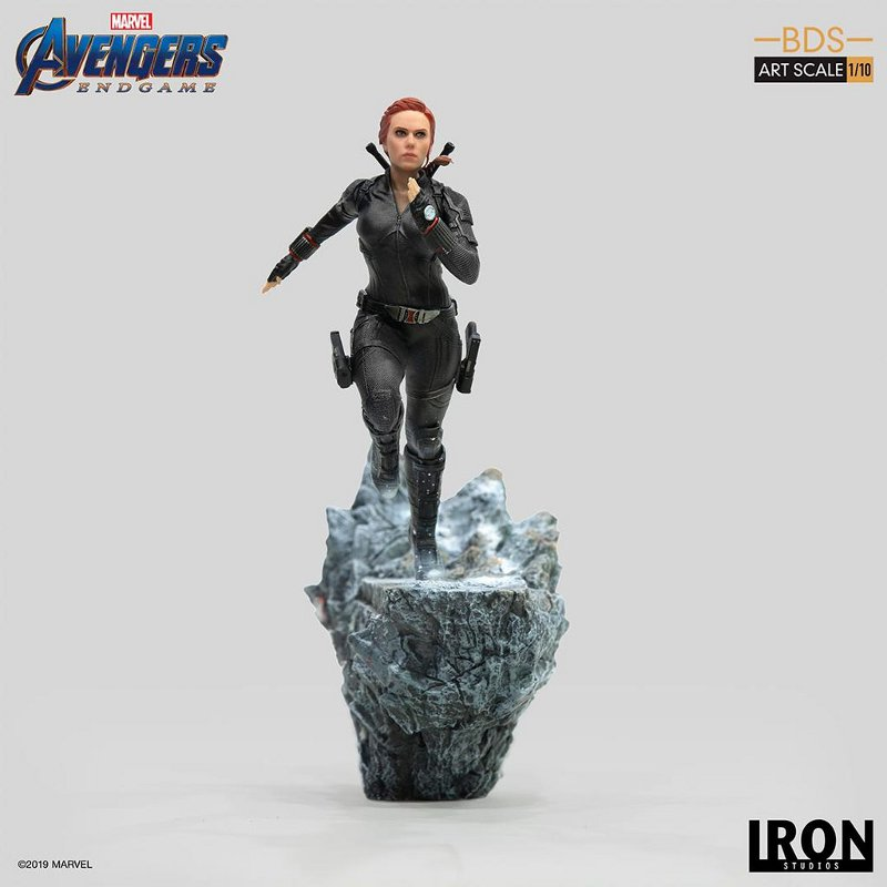 IRON STUDIOS : Avengers: Endgame – Black Widow Battle Diorama Statue Iron-s18