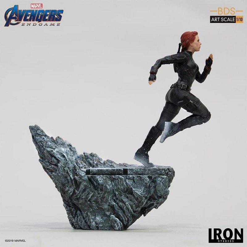 IRON STUDIOS : Avengers: Endgame – Black Widow Battle Diorama Statue Iron-s19