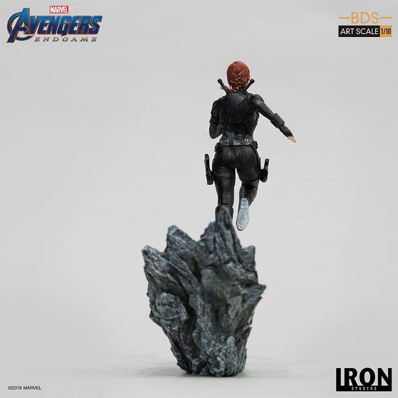 IRON STUDIOS : Avengers: Endgame – Black Widow Battle Diorama Statue Iron-s20