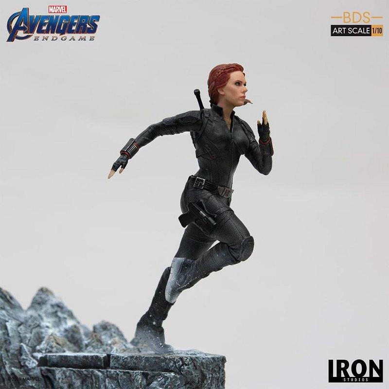 IRON STUDIOS : Avengers: Endgame – Black Widow Battle Diorama Statue Iron-s22