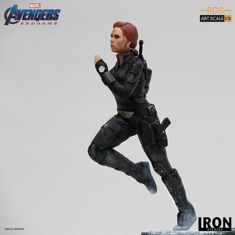 IRON STUDIOS : Avengers: Endgame – Black Widow Battle Diorama Statue Iron-s23