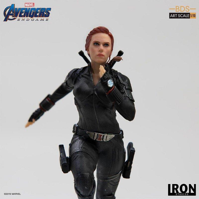 IRON STUDIOS : Avengers: Endgame – Black Widow Battle Diorama Statue Iron-s24