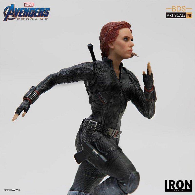 IRON STUDIOS : Avengers: Endgame – Black Widow Battle Diorama Statue Iron-s25