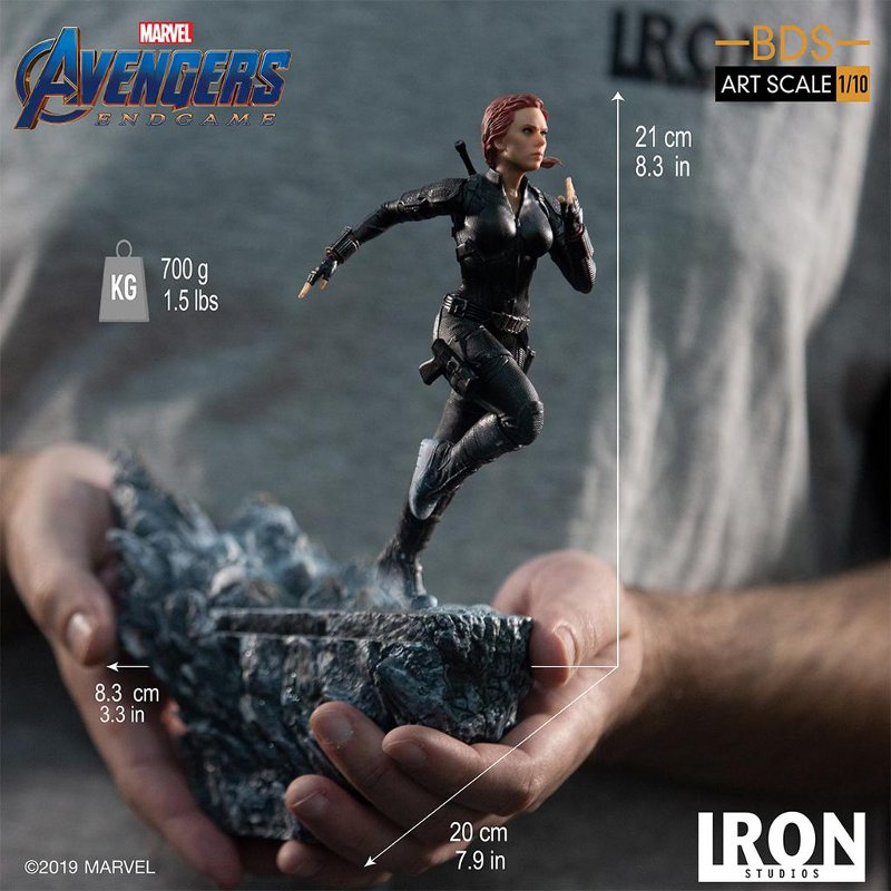 IRON STUDIOS : Avengers: Endgame – Black Widow Battle Diorama Statue Iron-s27